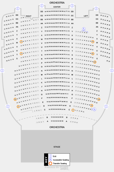 Seating Map 1