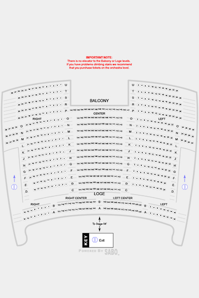 Seating Map 2