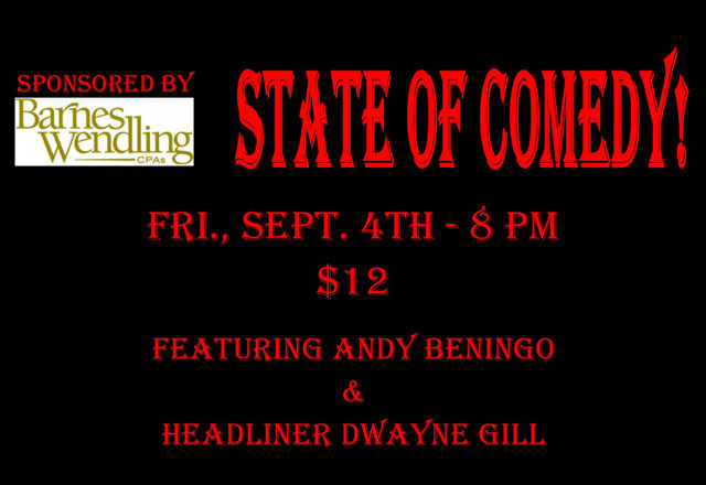 2015 Sept State of Comedy Slide Show
