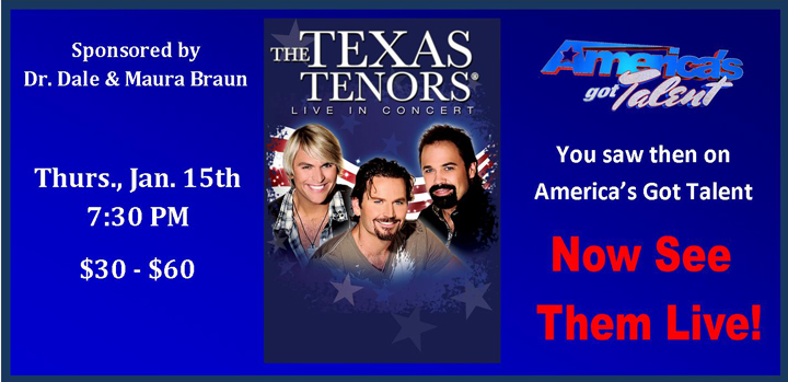 Texas Tenors Large Banner