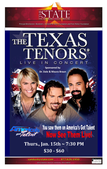 Texas Tenors Small Banner
