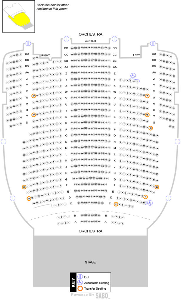 Orchestra Seating Chart With Numbers Share