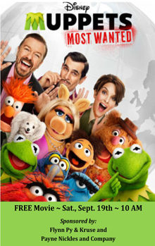 Muppets Most Wanted Small Banner