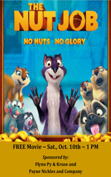 The Nut Job Small Banner