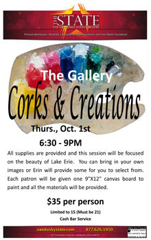 Oct Corks and Creations Small Banner