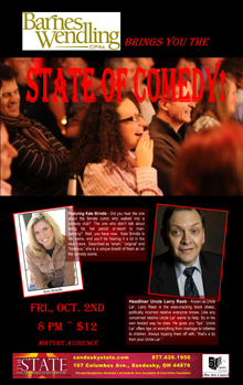 2015 Oct State of Comedy Small Banner