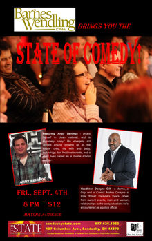 2015 Sept State of Comedy Small Banner