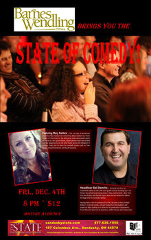 2015 Dec State of Comedy Small Banner