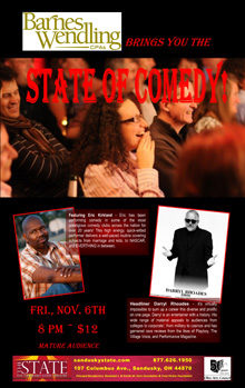 2015 Nov State of Comedy Small Banner