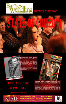 2016 Apr State of Comedy Small Banner