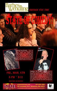 2016 Mar State of Comedy Small Banner