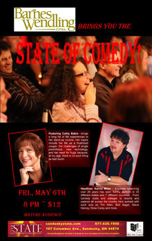 2016 May State of Comedy Small Banner