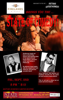 ST160902E State of Comedy Small Banner