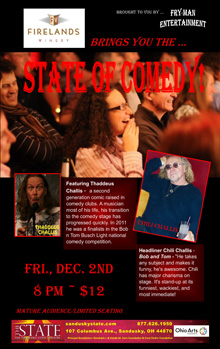 ST161202E State of Comedy Small Banner