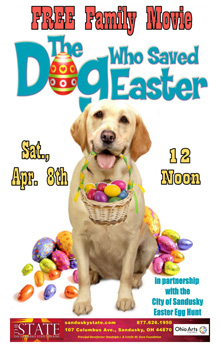 Dog who Saved Easter Small Banner