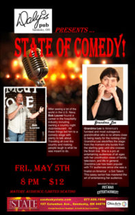 ST170505E State of Comedy Small Banner