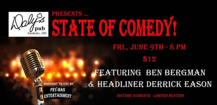 ST170609E State of Comedy Large Banner