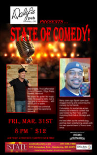 ST173103E State of Comedy Small Banner