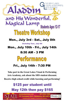Aladdin Workshop Small Banner