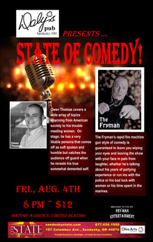 Aug State of Comedy Small Banner